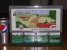 Kiddie Car Corner Bill's Boards Collection - Welcome & KC's Garage Billboard