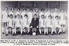 TORQUAY UNITED FOOTBALL TEAM PHOTO 1976-77 SEASON