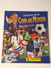 PANINI WORLD CUP STORY WC 1970 1982 1986 1990 COMPLETE STICKERS ALBUM ORIGINAL