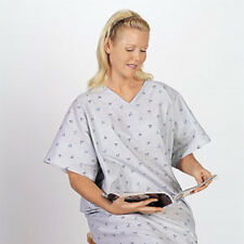 3 NEW HOSPITAL PATIENT GOWN MEDICAL EXAM GOWNS TWILL IV GOWN WHOLESALE DEAL