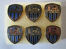 lotto 6 pins lot US LATINA CALCIO FC club spilla football futbol pins spille