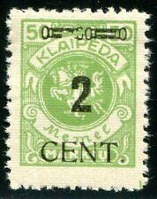 MEMEL 1923 185III * TADELLOS BEFUND BPP 120€(D4222