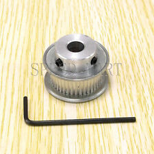 """MXL Aluminum Timing Belt Pulley 40 Tooth 10mm Bore 0.08"""" Pitch for Stepper Motor"""