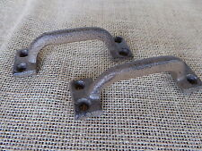 Rustic Industrial Cast Iron Drawer Handle Pull Knob ~ Dresser Cabinet Old World