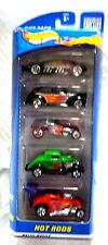 Hot Wheels HOT RODS Gift Pack #50072 Belly Tank Fiat 500C Rat 1934 FORD Roadster