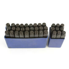 36 Piece 1/4 Inch Letter Number Stamp Punch Set  - ALN-2385