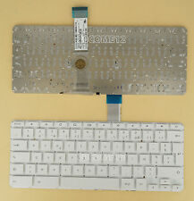 NEW For HP Chromebook 11 G2 Keyboard White No FRAME French Clavier