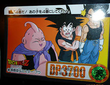 DRAGON BALL Z GT DBZ HONDAN PART 25  CARDDASS DP CARD CARTE 348 JAPAN 1995  NM