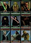 2015 Star Wars Chrome Perspectives Jedi vs. Sith Gold Refractor /50 You Pick