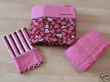 VICTORIAS SECRET PINK TWIN SIZE SHEET SET PINK-NEW