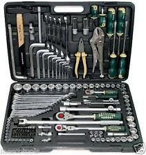 "MASTER TOOL KIT FORCE 142PC COMBINATION TOOL SET 1/2"" & 3/8"" & 1/4"" SD"