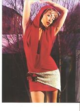 KYLIE MINOGUE Little Red Riding Hood magazine PHOTO / mini Poster 9x7""