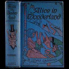 1905 ALICE IN WONDERLAND & THROUGH LOOKING-GLASS RARE ILLUSTRATED LEWIS CARROLL