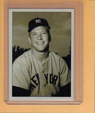 Mickey Mantle NY Yankees signature photo card Plutograph serial numbered /200