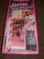 Barbie Sweet Roses Refrigerator Freezer House 4776 NIB 1987 Furniture Vintage