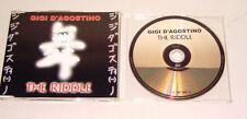 Single CD  Gigi D´Agostino - The Riddle  1999  3.Tracks  Rar  77