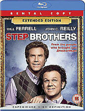 Step Brothers  DVD Blu-ray Will Ferrell, Richard Jenkins, John C. Reilly, Mary S