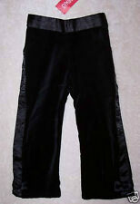 New W/Tags Gymboree Glamour Kitty Black Velveteen Pants Girl's 2T