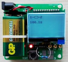 2015 newest version of inductor-capacitor ESR meter DIY MG328 multifunction test