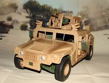 1:18 BBI Elite Force US Army Armored M1114 Up Humvee Military Vehicle w Figure