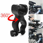 360 Degree Cycling Bicycle Bike LED Head Light Cree Torch Lamp Mount Holder Clip