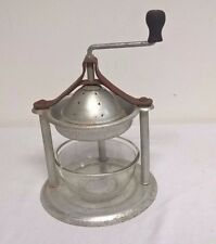 Vintage Handy Andy Juice Extractor With Glass Bowl