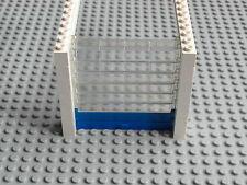 LEGO Città-GARAGE A RULLI PORTA / Overhead SHUTTER-Bianco W / TRASPARENTE, BLU-gmt05