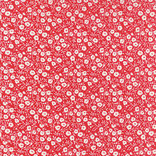 Moda HELLO DARLING 55117 21  Red Quilt Fabric BTY Bonnie & Camille