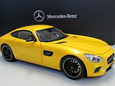 Model 1:18 Mercedes Benz AMG GT S solarbeam yellow Norev New