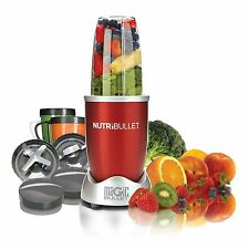 NutriBullet 600 W RED COMPLETE 12pc SET Nutrition Extractor Blender UK Plug