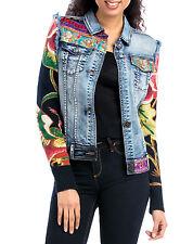 Desigual Jeans Jacke Gr.46 / DE = 44 XXL *NEU* ETHNIC DELUXE