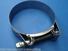 SUZUKI GSX 750 F EXHAUST REPAIR CLAMP STAINLESS STEEL W2 QUALITY ALL MODELS