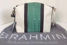 Brahmin Mini Duxbury Leather Convertable Shoulder bag NWT Multi-color $225