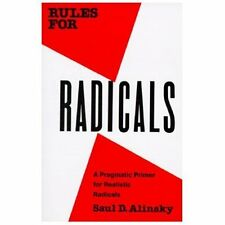 RULES FOR RADICALS - SAUL DAVID ALINSKY (PAPERBACK) NEW