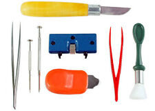 Battery Replacement and Cleaning Watch Repair Kit Jewelry Tools Crab Tool