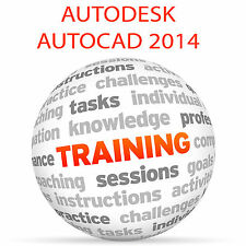 Autodesk Autocad 2014-Video Tutorial DVD de entrenamiento