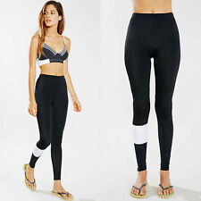 Womens Fitness Yoga Running Leggings Ladies Exercise Gym Workout Pants Trousers