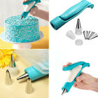 Nozzle Bag Icing Pastry Piping Tips SugarCraft Fondant Cake Decorating Pen Set