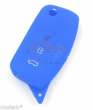 Protège coque clé Ford Mondeo Focus Fusion Fiesta C-MAX Puma Transit Cover Key