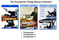 TRANSPORTER TRILOGY BLU RAY Complete TRIPLE PACK PART 1 2 3 NEW & SEALED UK