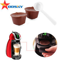 1×Refillable Reusable Coffee Capsules for Dolce Gusto Machine Refill Cup Filter