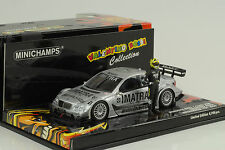 2006 MERCEDES-BENZ C-CLASS DTM ROSSI TEST Evian 1:43 Minichamps