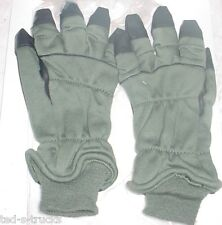U.S. Military Surplus New Nomex Pilot Intermed Cold Weather Gloves Sz 9 Flyers