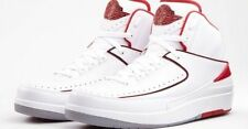 2014 Nike Air Jordan 2 II Retro White Red Size 13. 1 3 4 5 7 9 11 12