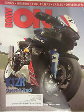 BMW Owners News Magazine July 2005 Gina's Hosting Fuel Filters Cables Driveshaft