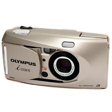 Vintage Olympus iZoom75 APS Retro Compact Film Camera with Case