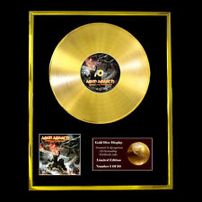 AMON AMARTH TWILIGHT OF THE THUNDER GOD CD  GOLD DISC FREE P+P!!