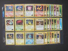 Pokemon COMPLETE GYM HEROES SET 132/132 - HOLOS - NM+