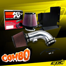 07-12 BMW 328i E90/E92/E93 3.0L 6cyl Polish Cold Air Intake + K&N Air Filter