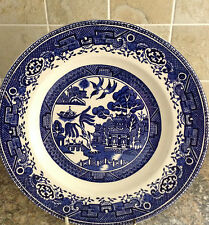 Vintage washington old willow 10 pouces dinner plate